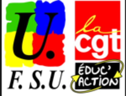 CTA du mercredi 13 mai 2020 : déclaration liminaire FSU/CGT Educ'Action