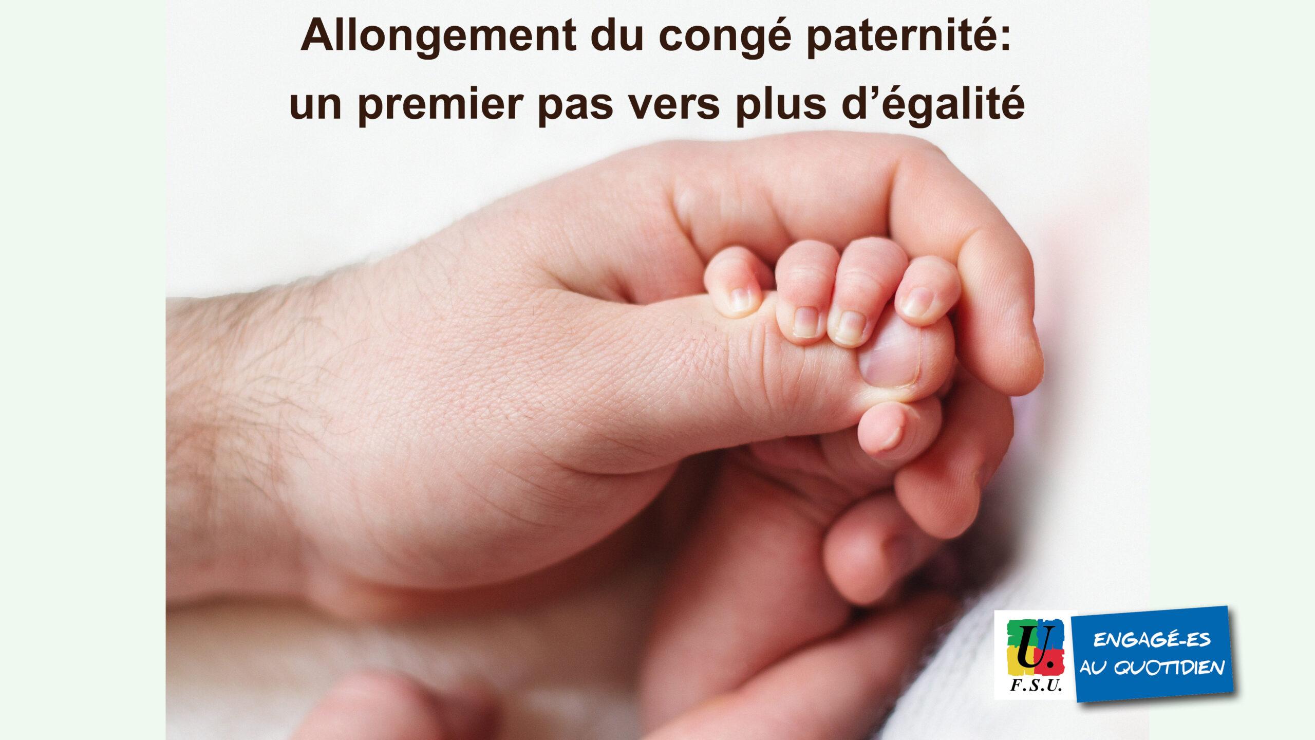 Congé paternité : le SNUipp-FSU fait le point sur les changements